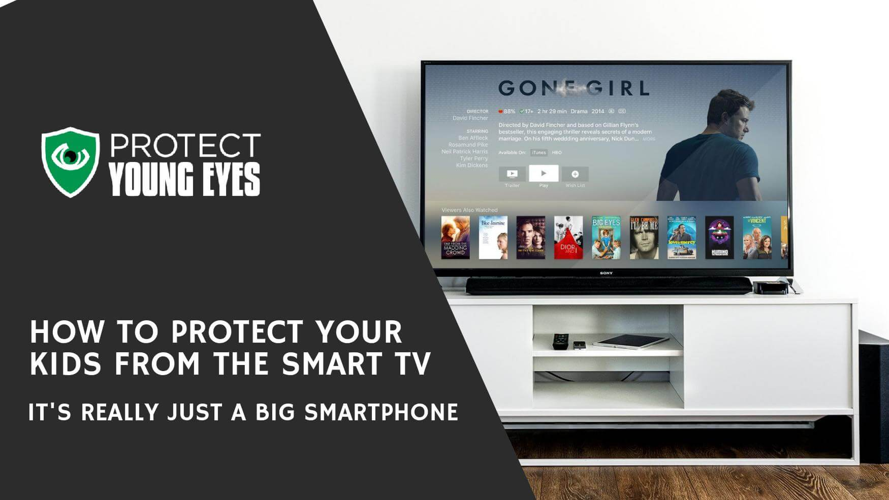How to Protect Kids from the Smart TV
