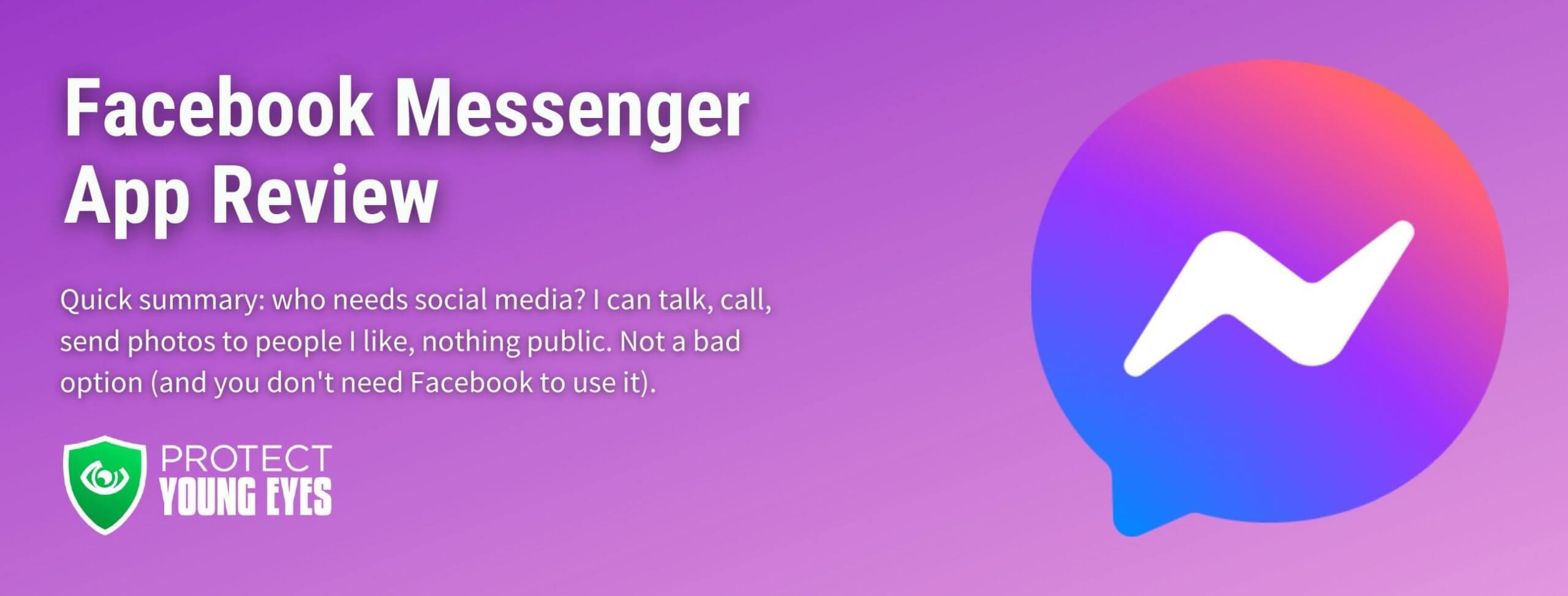 Facebook Messenger App Review