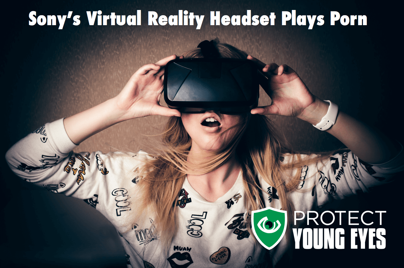 Sony Virtual Reality headset