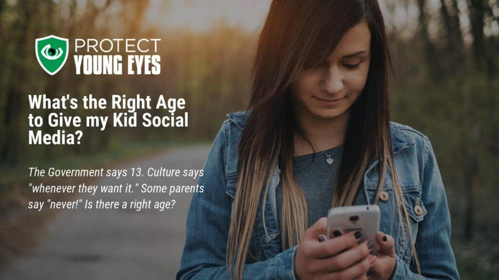 Right Age for Social Media - PYE