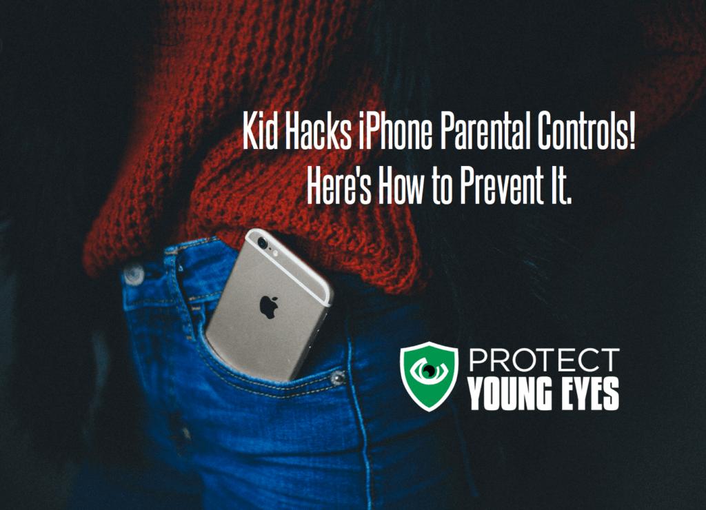 iPhone Parental Controls Restrictions