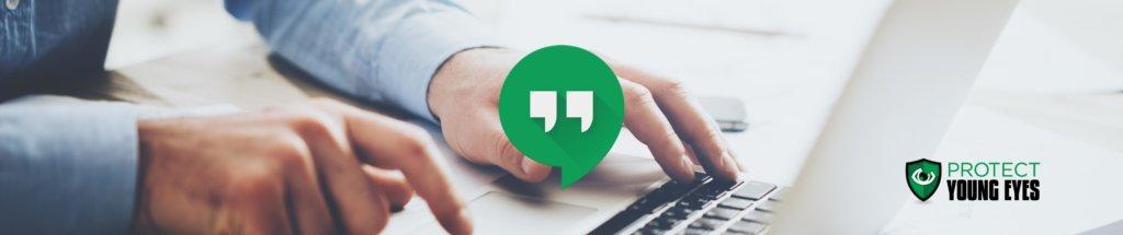 Google Hangouts Image - PYE