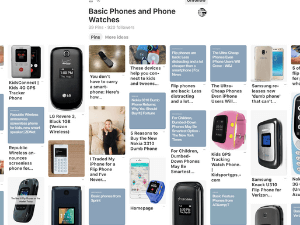 Dumb Phone Pinterest Page