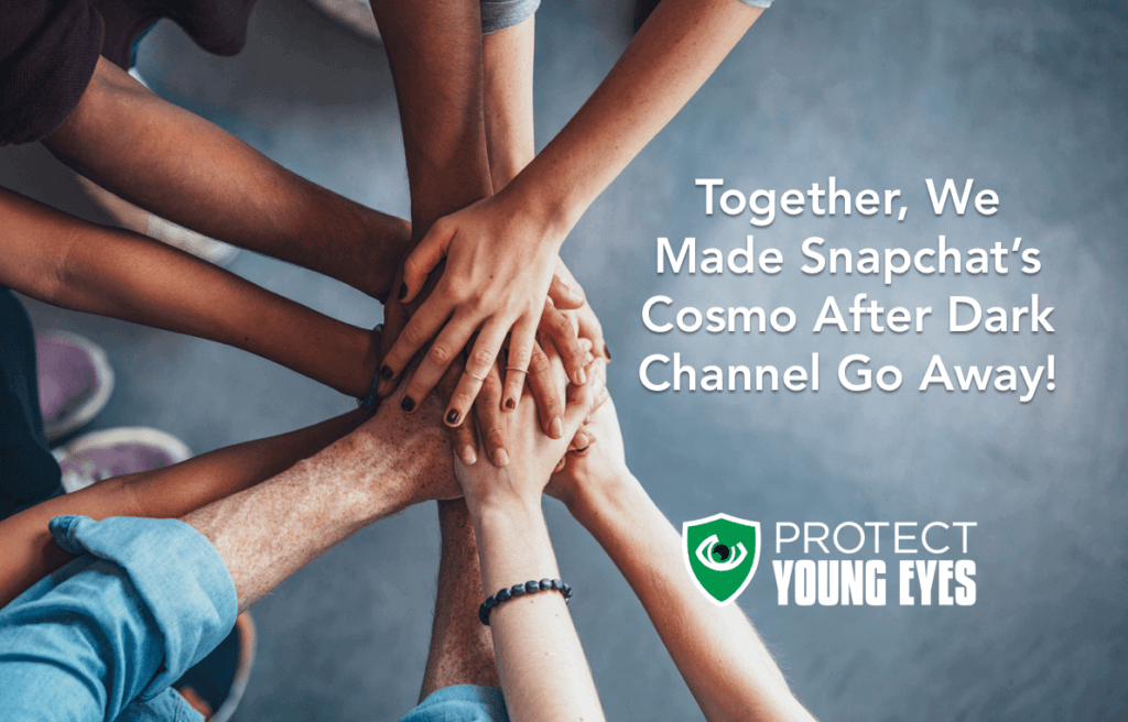 Cosmo After Dark Taken Down