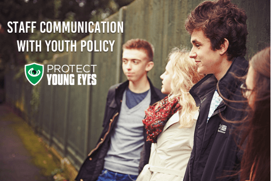 Staff Communication with Youth Policy Example