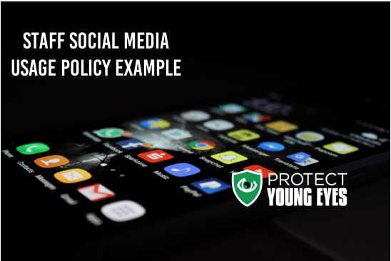 Staff Social Media Usage Policy Example