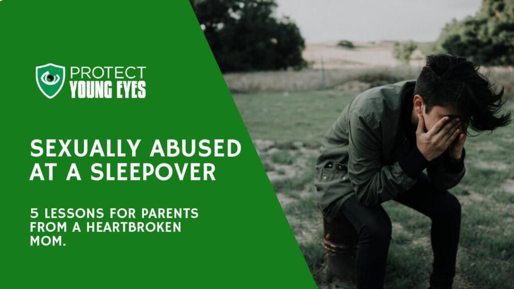 Abused at Sleepover