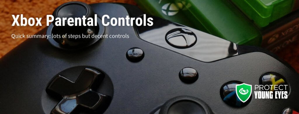 Xbox Parental Controls 2020