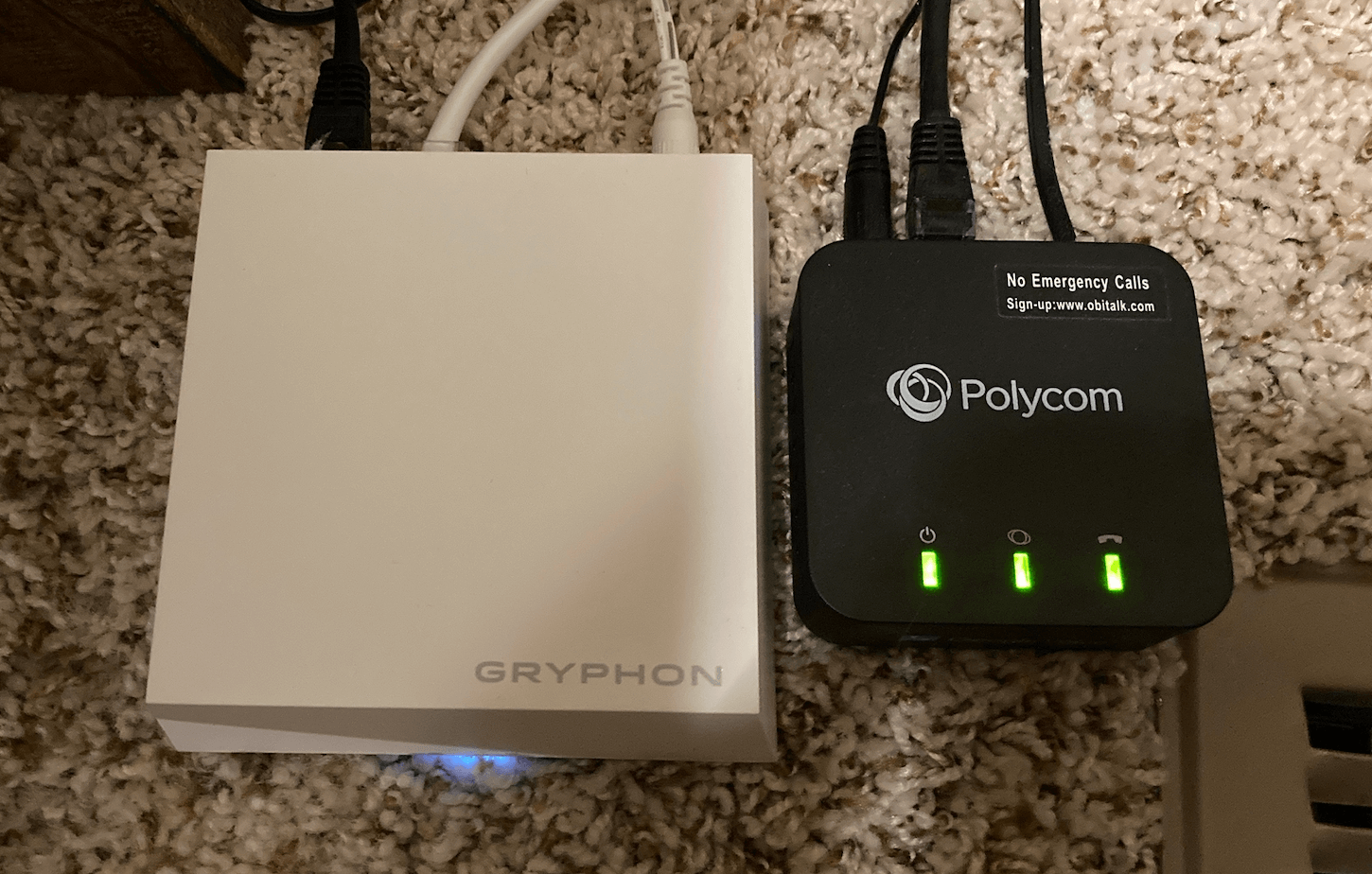 Gryphon Router in Chris' Home