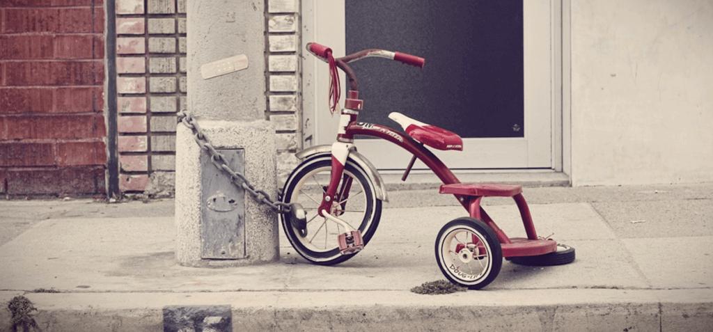 Christmas Presents - Riding a Bike