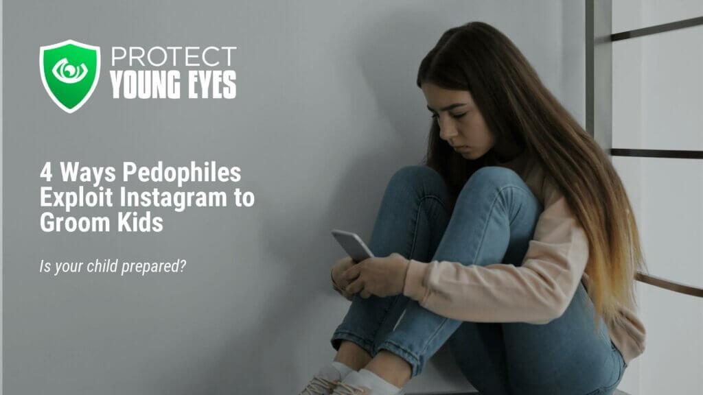 Pedophiles using Instagram to Exploit Kids