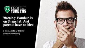 Porn on Snapchat