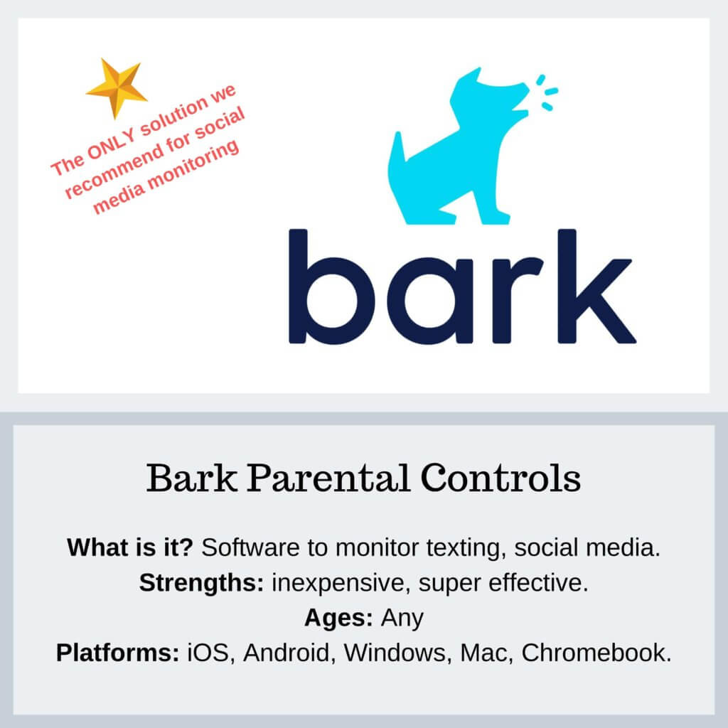 Bark Parental Controls - Protect Young Eyes
