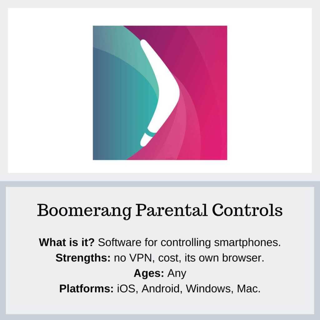 Boomerang Parental Controls - Protect Young Eyes