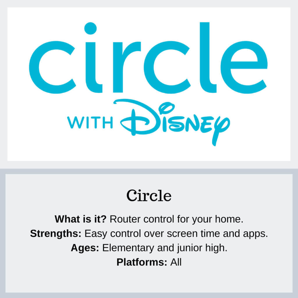 Circle with Disney Parentl Controls - Protect Young Eyes