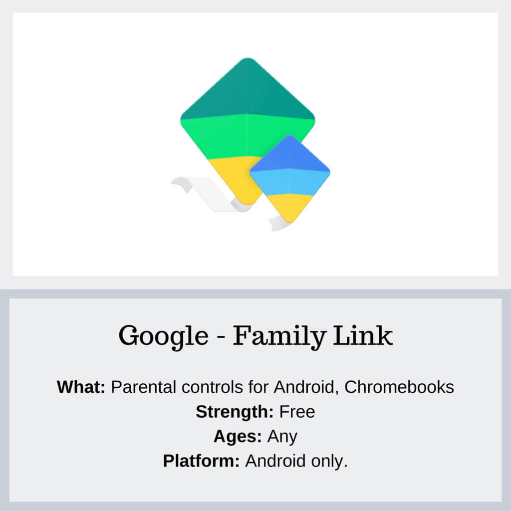 Family Link Parental Controls - Protect Young Eyes