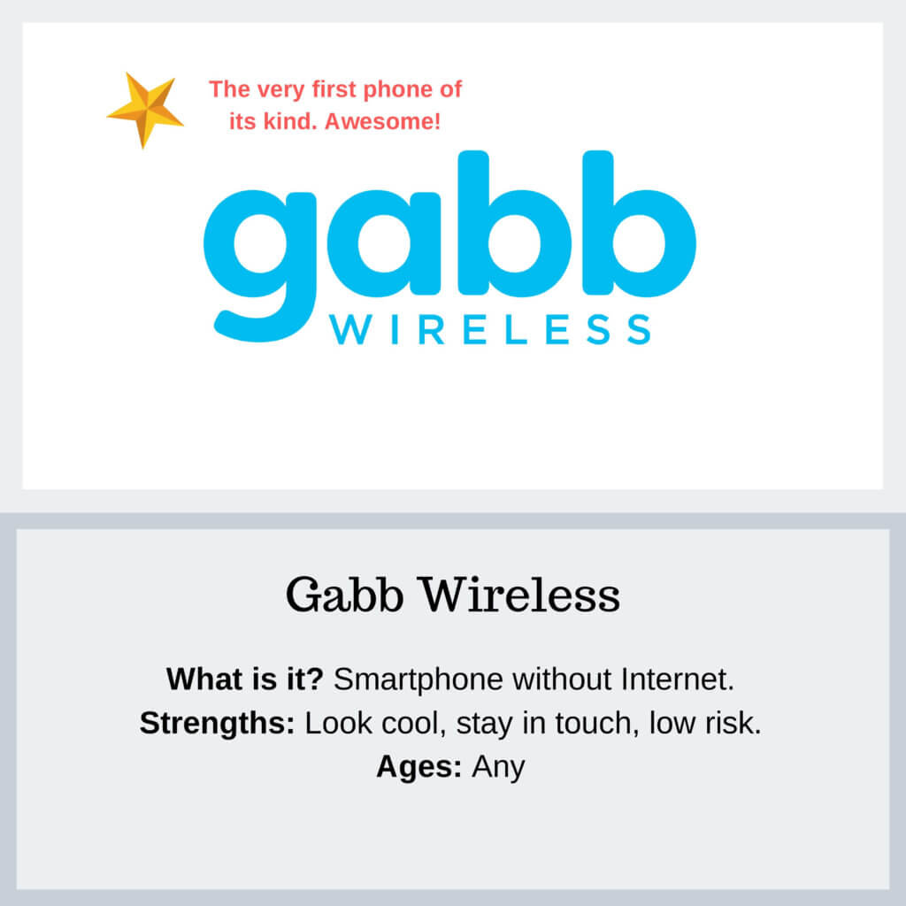 Gabb Wireless 2 - Protect Young Eyes