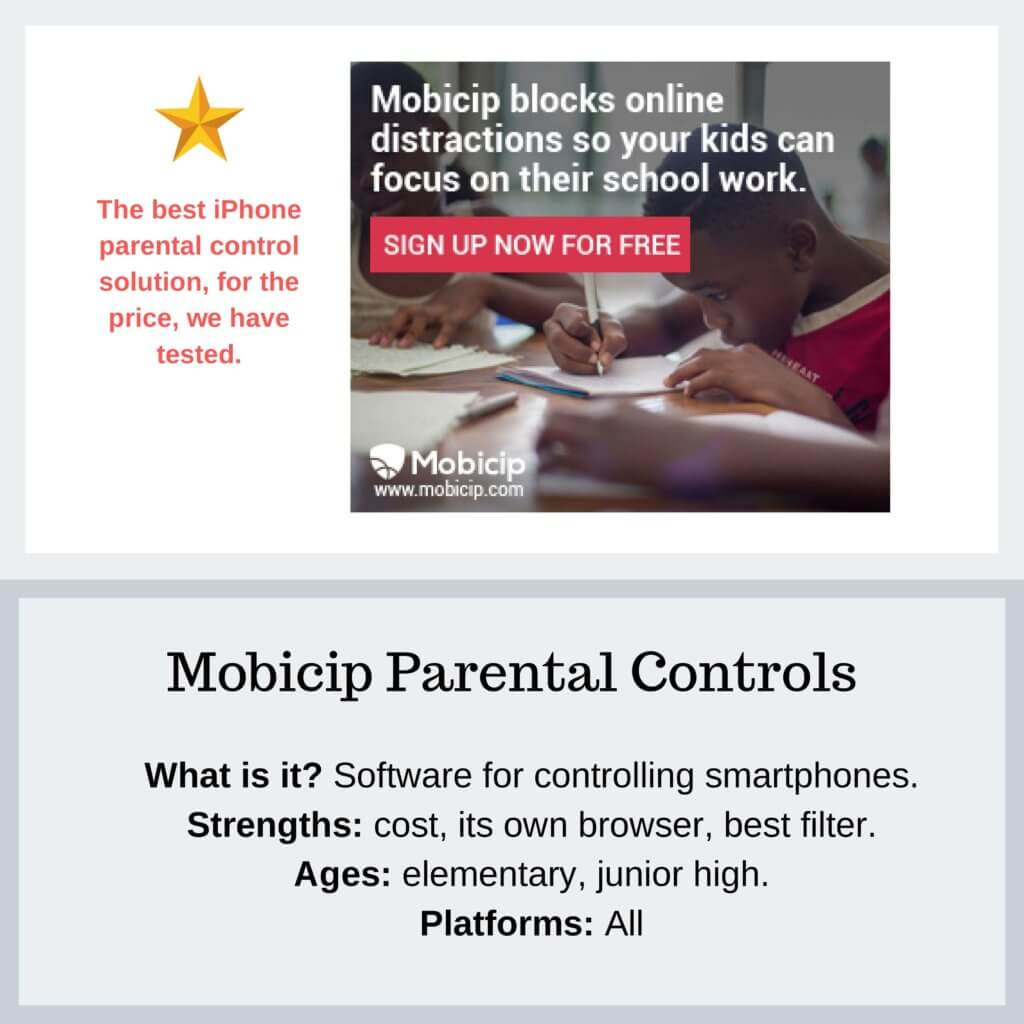 Mobicip Parental Controls - Protect Young Eyes