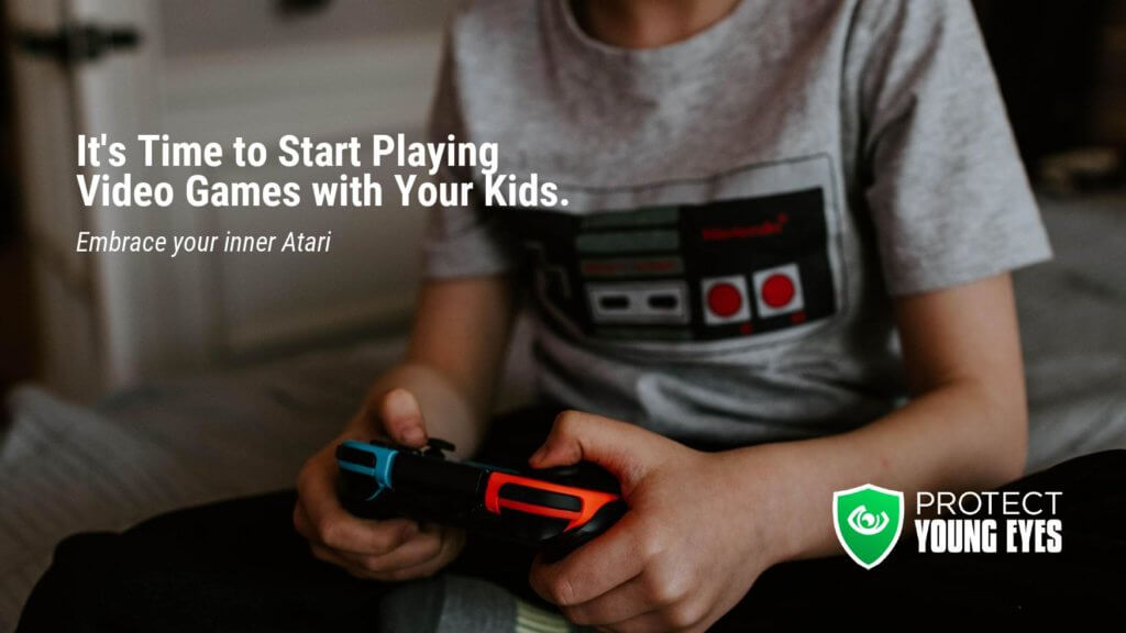 Gaming with Kids Blog Feature Image