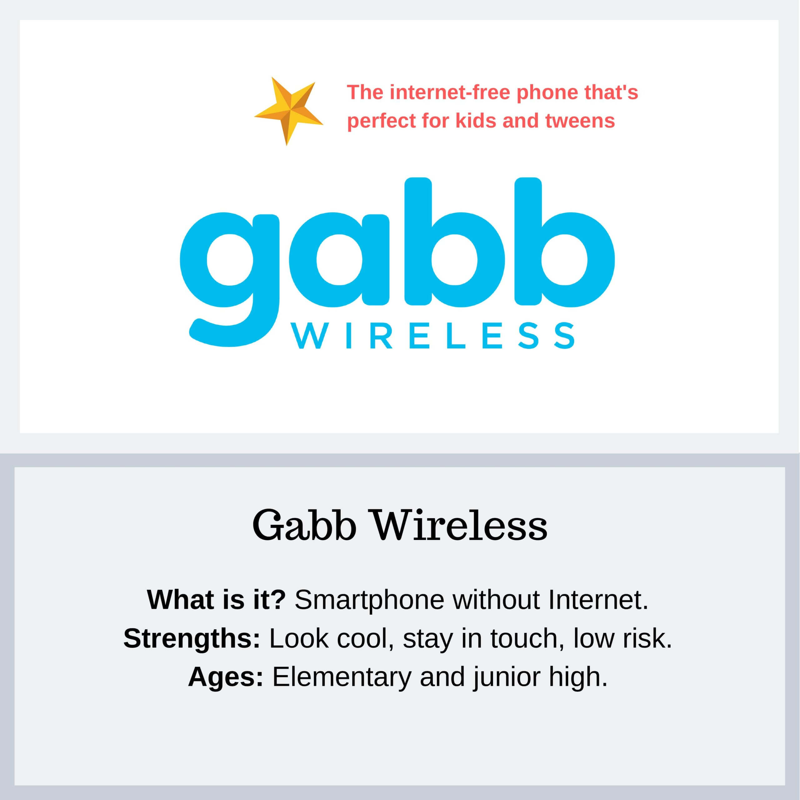 Gabb Wireless - PYE