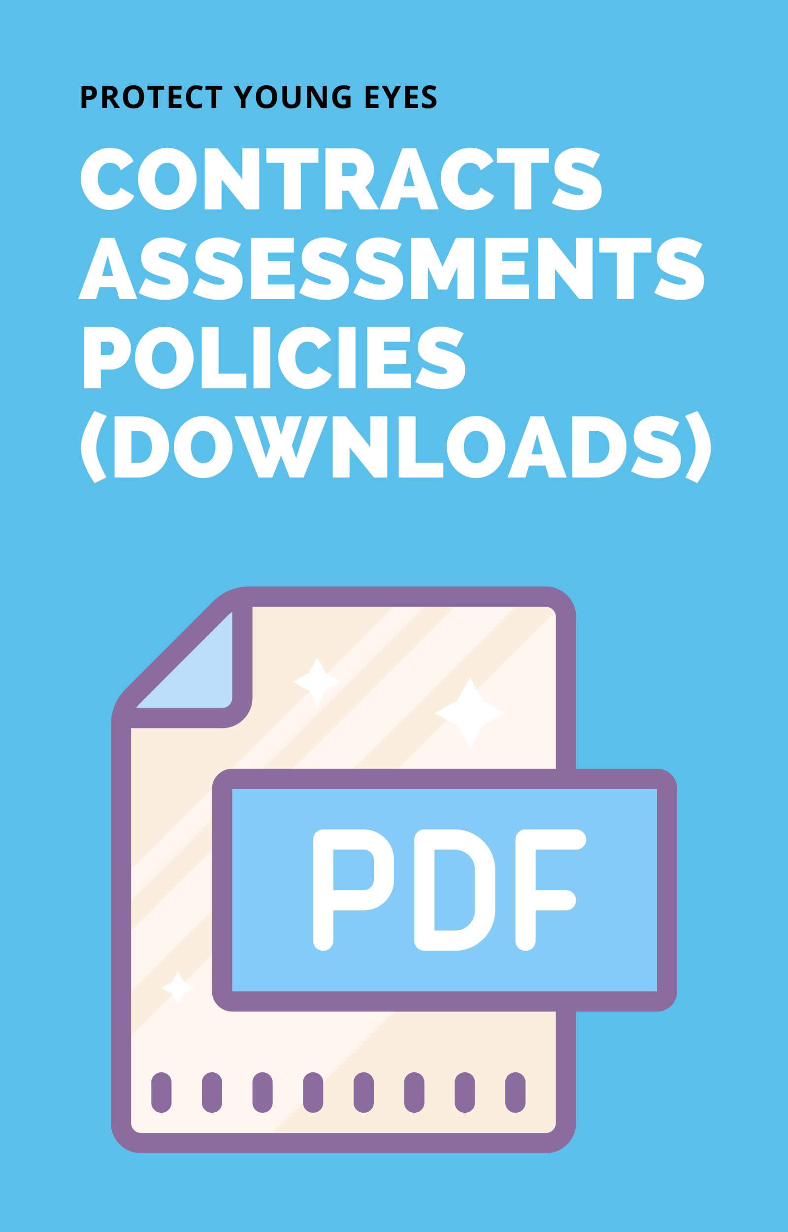 Contracts, Assessments, Policies - PYE