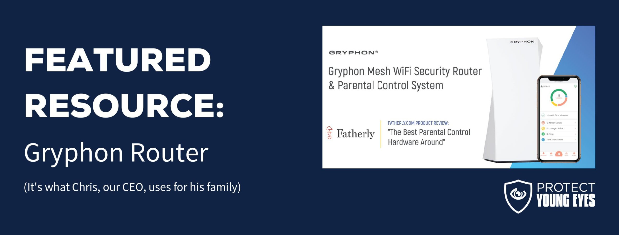 Gryphon Parental Controls - PYE