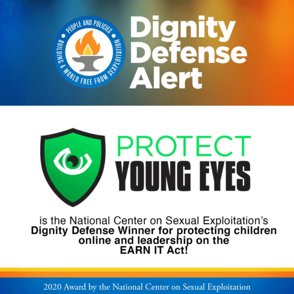 PYE Dignity Defense Alert Winner