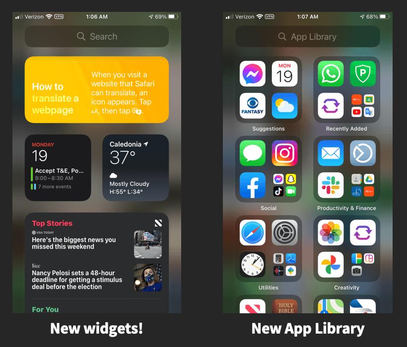 iOS 14 Parent Updates (10.18.20)