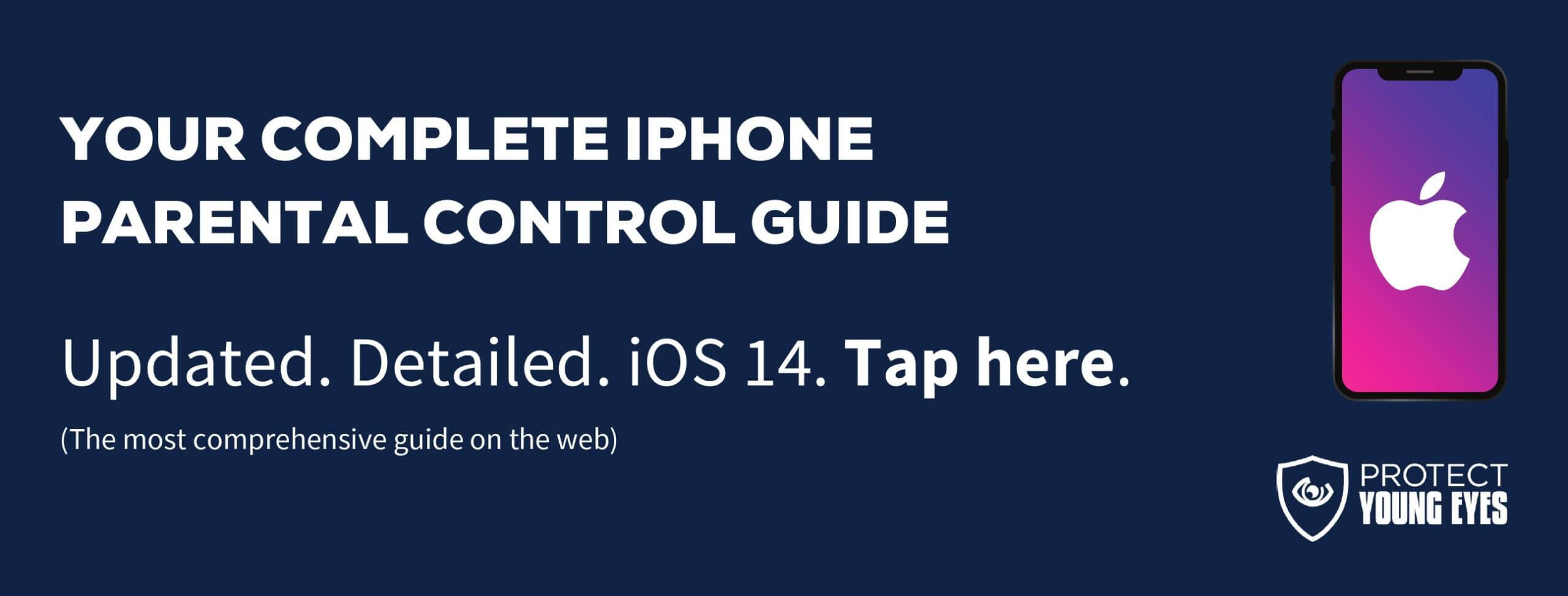 iOS Parental Controls (10.18.20)