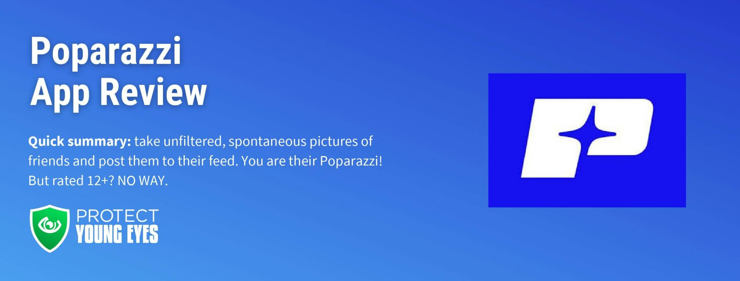 Poparazzi App Review Header Image from PYE