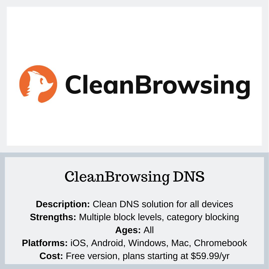 CleanBrowsing Image - PYE
