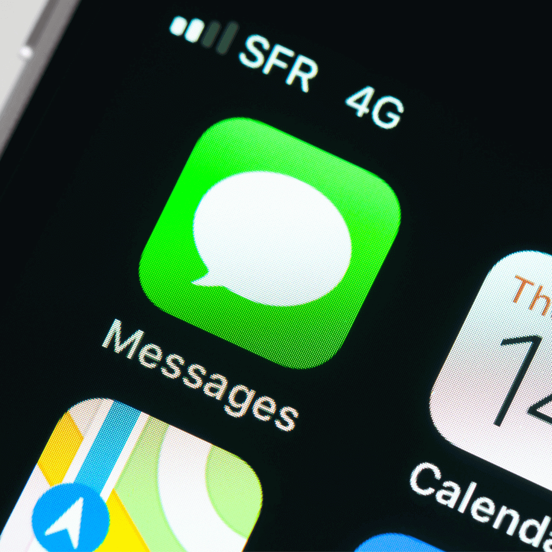 Picture of iMessage icon